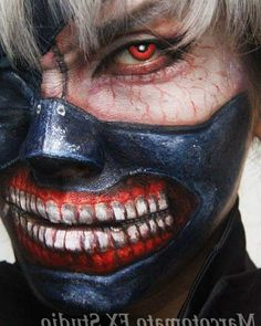 Cosplay makeup  Can you recoginse me ? This is so cool to be 金木研  #東京食屍鬼 #SFX #makeup #cosplay #facepainting #東京喰種 #トーキョーグール #TokyoGhoul #金木研 #specialmakeup #marcotomatofxstudio #sfxmakeup #SFX #特技化妝 #特殊化妝 #特效化妝 #makeup #charactermaking #charactermakeup