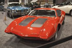 Officially, only six AMX/3s were ever built, all of them assembled in Italy by coach builder Bizzarrini.