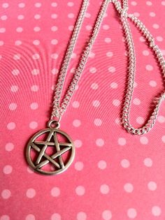 https://www.facebook.com/photo.php?fbid=155456147977142=a.155456017977155.1073741849.116344528554971=3  #pentagram #pentalpha #pentangle #fivepointedstar #Babylonians #Pythagoreans #ancientGreece mnagic #pagan #wiccan #freemasons #necklace #jewellery