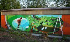 SATONE http://www.widewalls.ch/artist/satone/ #streetart #urban #art #graffiti