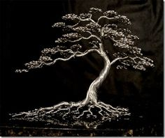 amazing cool awesome wire tree sculptures (6)
