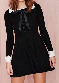 UNIF Redemption Knit Dress #dress #fashion