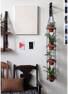 DIY Multi-Pot Plant Hanger Design*Sponge