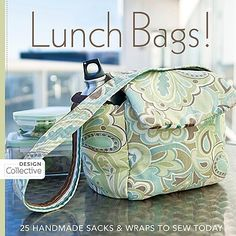 Homemade Lunch Bags#Repin By:Pinterest++ for iPad#