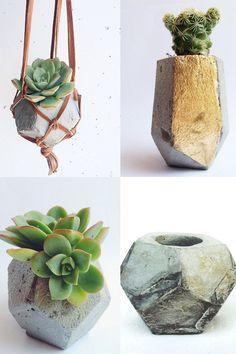 concrete planters: Concretegeometric