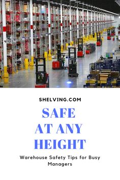 We've got all the new ideas on how to keep your workers safe and help make sure you're doing all you can do to improve warehouse height safety. Warehouse Shelving, Safety Precautions, All You Can, Safety Tips, Photo Wall, Frame, Picture Frame, Photograph, Frames