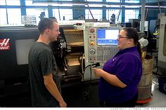 Women in manufacturing: It's not just a man's job - Sep. 4, 2012