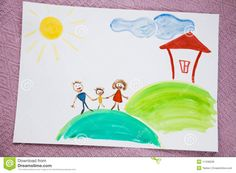 my family children's drawings - Google Search Family Portrait Drawing, Family Drawing, Family Portraits, Drawing Competition, Google Search, Drawings, Kids, Food, Family Posing