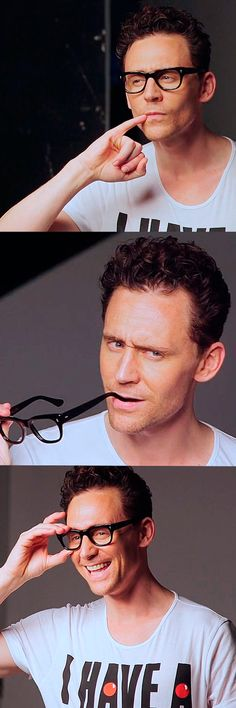 Tom Hiddleston for Comic Relief 2015 - Red Nose Day - BTS Photoshoot