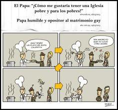 Bergoglio el de los pobres | esedosuno