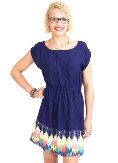 ELEMENT ANGEL KLEID FEELING BLUE www.fourseasonsclothing.de  #element #kleid #dress #kleidchen #new #inka #sweet #new