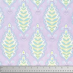 Meadow: Willow Leaf in Purple by Dena Designs for FreeSpirit PWDF240 | Canadian National Fabric