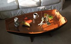 The CLC Cradle Boat with Coffee Table Conversion