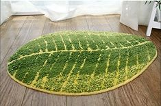 This plush leaf rug. | 24 Unexpected Ways To Add Greenery To Your Home