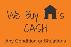 We Buy Houses For Cash Signs
