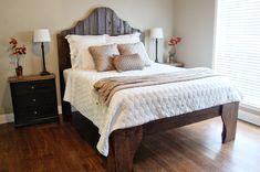 Amazing!  DIY bed...complete tutorial