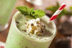 Make Your Own Shamrock Milkshakes For St. Patrick's Day!