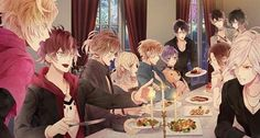 Diabolik Lovers (at dinner