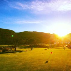 #Hermanus #golfclub #weekendaway #earlymorning