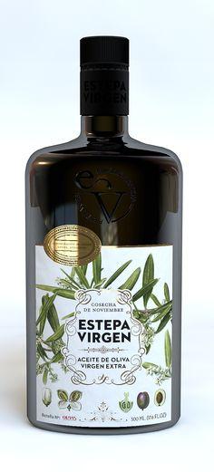 Estepa Virgen, Extra olive oil. By Buenos días,