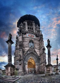 Catedral de Freiburg (Alemania) / Freiburg Cathedral, Black Forest, Germany.