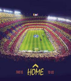 Champions League Football, Nou Camp, Barcelona, Spain.