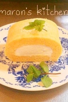 秘密の片栗粉を炒めて♡スフレロールケーキ