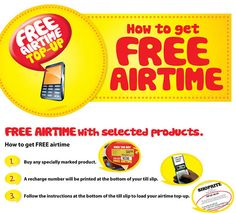 Free Airtime Pop-Up from Shoprite