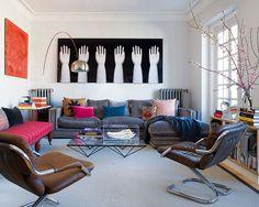 Design moderniza casa centenária em Madri - Casa Vogue | Interiores