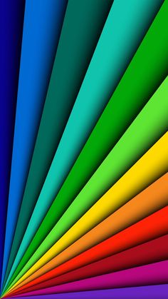 Fanned out primary colors wallpaper rainbow wallpaper, geometric wallpaper, colorful wallpaper, screen wallpaper Rainbow Wallpaper, Geometric Wallpaper, Colorful Wallpaper, Cool Wallpaper, Wallpaper Backgrounds, Colorful Backgrounds, Samsung Galaxy Wallpaper, Cellphone Wallpaper, Mode Poster