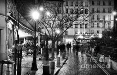 Rue de la Huchette Photograph by John Rizzuto