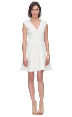Double Face Jersey Dress - Rebecca Taylor