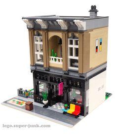 Lego Modular on Flickr
