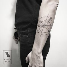30 Scientific Atomic Tattoo Designs and Ideas – Secrets of The Universe