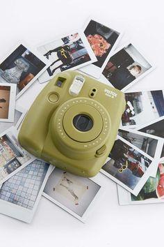 Fujifilm X UO Custom Colour Khaki Instax Mini 8 Instant Camera
