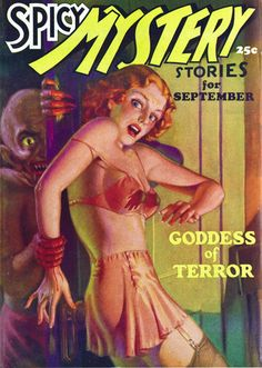 Spicy Mystery Stories, September 1935