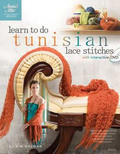 Bestseller Books Online Learn to Do Tunisian Lace Stitches (Book & DVD) (Annie's Attic: Crochet) Kim Guzman $10.17  - http://www.ebooknetworking.net/books_detail-1596352647.html