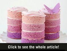 Paarse Stapel Cake - Vrouwen.nl