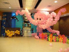 Balloon Octopus.