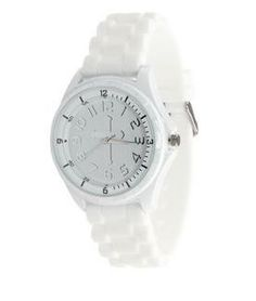 """White Christian Watch - Cross Watch just $19.99 available at www.peacebewithu.com    Please """"like"""" and """"share"""" to help support our ministry!    God Bless and may Peace Be With U!"""