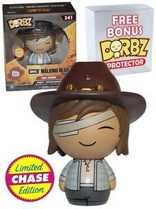 FUNKO Dorbz CHASE The Walking Dead #341 Carl Grimes (Injured) Eye New Mint Exclusive #Funko #Dorbz #TheWalkingDead #Collectibles