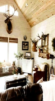 Western home Decor Ideas - Best Room Decorating Ideas Home Decor Kitchen, Home Decor Bedroom, Living Room Decor, Western Living Rooms, Ranch Decor, Décor Antique, Western Decor, Country Decor, The Ranch