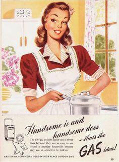 illustration Vintage Kitchen - http://amarnaimagens.blogspot.se/2012/07/ilustracoes-vintage-de-cozinha.html