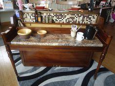 Upright Piano Breakfast Bar/Island