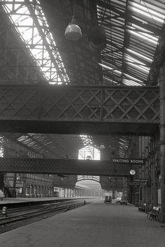 Nottingham Victoria station 1967.