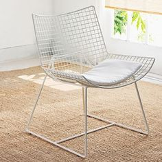 wire mesh occasional chair