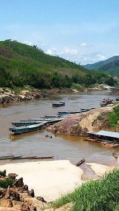 Pak Beng, Laos
