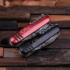 Personalized Utility Pocket Knife