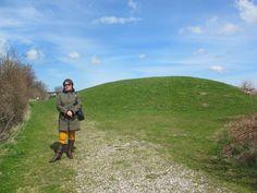 #visitfyn højen, hvor Ladbyskibet ligger i. In this mound you can see the Ladby ship burial dating ca 925 AD Viking or middleage