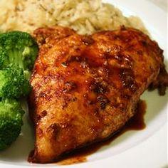 Chicken and Red Wine Sauce Allrecipes.com